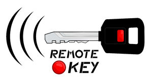 Remote key Royalty Free Stock Photos