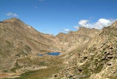 Remote Lake. Remote mountain lake in the Colorado Rockies Royalty Free Stock Photos