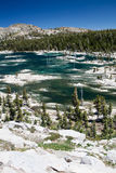 Remote Lake in Sierra Nevada Mountains, California Royalty Free Stock Images