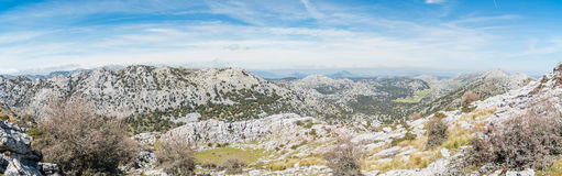 Remote landscape panorama Royalty Free Stock Images