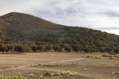 Remote landscape on way to Jalapa in Mexico Royalty Free Stock Photos