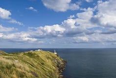Remote lighthouse Stock Photo