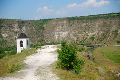Remote monastery, Orheul Vechi, Moldova Stock Photo