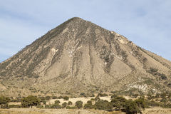 Remote mountain on way to Jalapa in Mexico Royalty Free Stock Photography