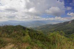 Remote mountainous area Royalty Free Stock Photo