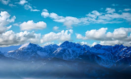 Remote mountains Royalty Free Stock Images
