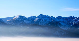 Remote mountains Royalty Free Stock Image