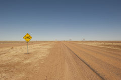 Remote outback street in Queensland, Australia Royalty Free Stock Photos