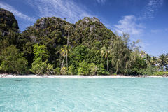Remote Pacific Island Royalty Free Stock Photography