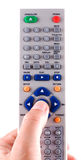 The remote panel. Remote control on a white background Stock Photo