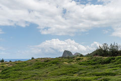 Remote part of Maui, Hawaii Stock Photos