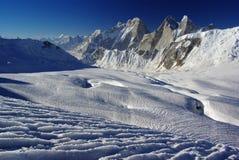 Remote peaks. By the way of biafo hispar trek, karakoram range Stock Photography