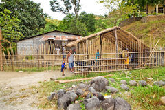 Remote Philippine village Royalty Free Stock Photos
