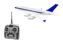 remote rc радио плоскости управления Стоковые Фото