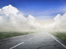 Remote road Royalty Free Stock Photo