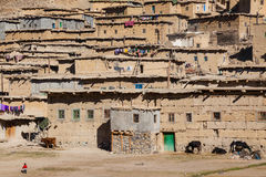 Remote Rural Berber village in Morocco Royalty Free Stock Images