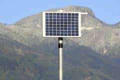 Remote Solar Power Panel Royalty Free Stock Photos