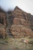 Remote tibetan monastery Royalty Free Stock Photo