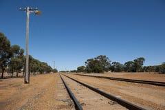 Remote Train Track Stock Image