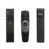 remote tre för kontrollapparater Arkivbild