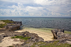 Philippines - Remote Tropical Beach Stock Photography