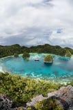 Remote Tropical Lagoon 2 Royalty Free Stock Photo