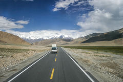 Remote trucking in China Stock Images