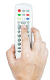 Remote tv Stock Image