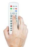 Remote tv Stock Image