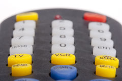 Remote for the TV Royalty Free Stock Images