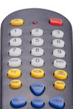 Remote for the TV Stock Photo