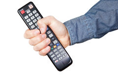 Remote for tv Stock Images