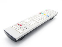 Remote tv control access monitoring Stock Image