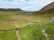 This is a remote valley in North Iceland. The valley is abonded by farmers now.
