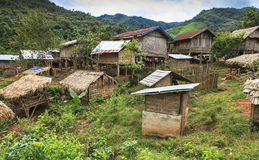 Remote village Royalty Free Stock Photography