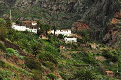 Remote village in Tenerife Stock Images