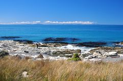 Remote Ward Beach Stock Photo