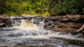 Remote Wilderness Waterfall Stock Photos
