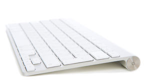 Remote wireless computer office keyboard Royalty Free Stock Photos