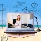 Remote work Stock Image