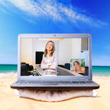 Remote work Stock Images