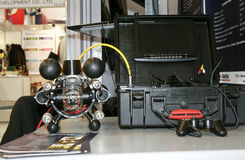 Remotely controlled underwater vehicle RB-600 Royalty Free Stock Photo
