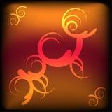 remous abstraits de spirales Images stock