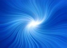 Remous bleu Image stock