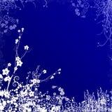 Remous bleu-foncé Illustration Libre de Droits