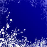 Remous bleu-foncé Photo stock