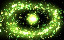 Remous cosmique Photo libre de droits