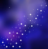 Remous d'étoile Image libre de droits