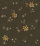 Remous de Brown et configuration de fleurs Illustration de Vecteur