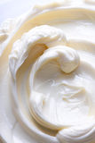 Remous de crème légère image libre de droits